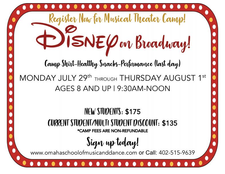 Musical Theater Summer Dance Camp