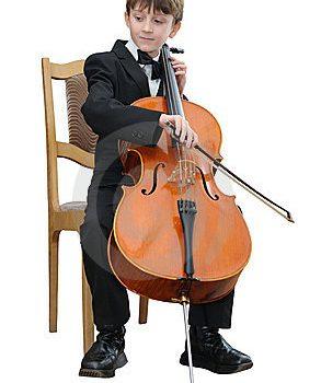play the cello