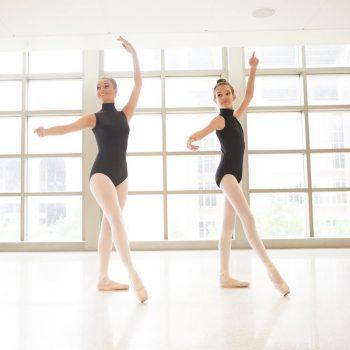 Pre-pointe dance