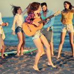 Music and Dance on the beach