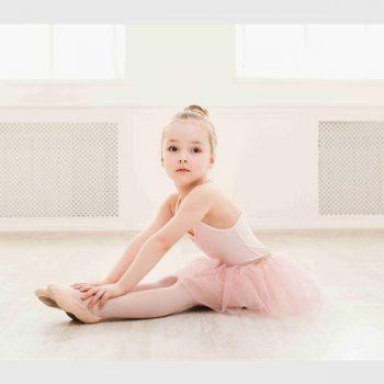 disciplined child ballet