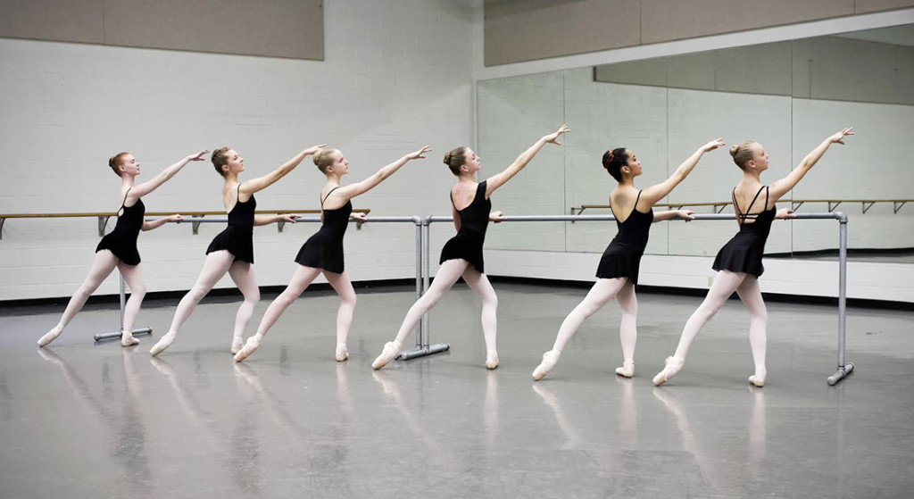 technique from ballet, ballet dancers