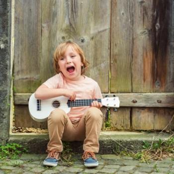 Voice Lessons little boy singing