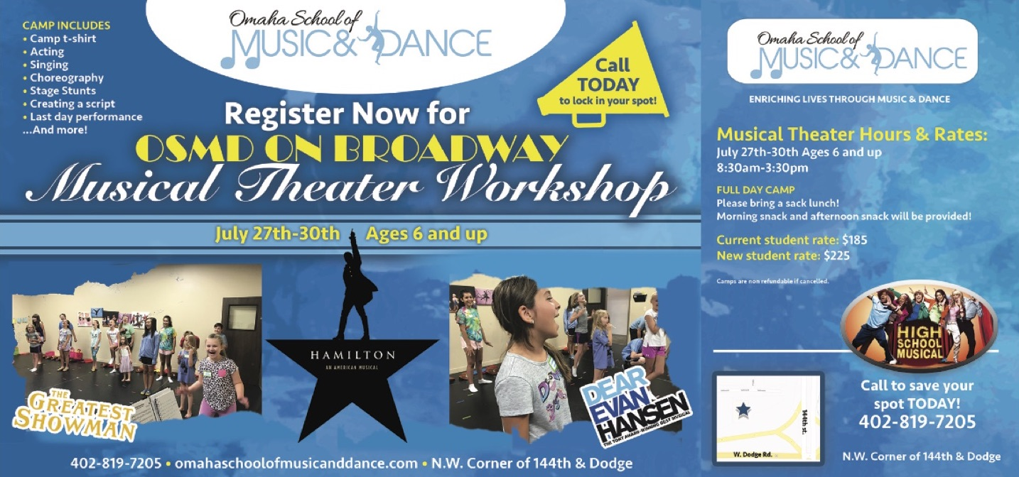 Musical Therater Workshop Flier
