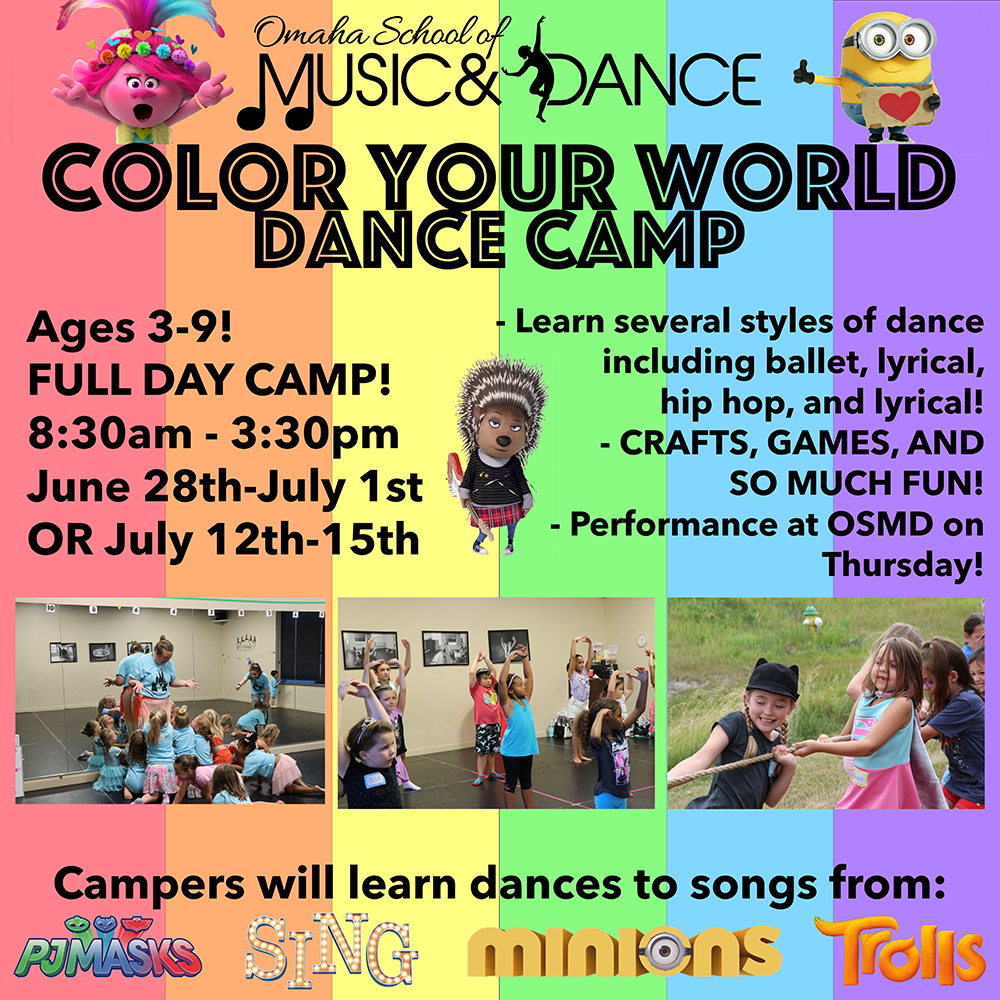 Summer Dance Camp | Color Your World