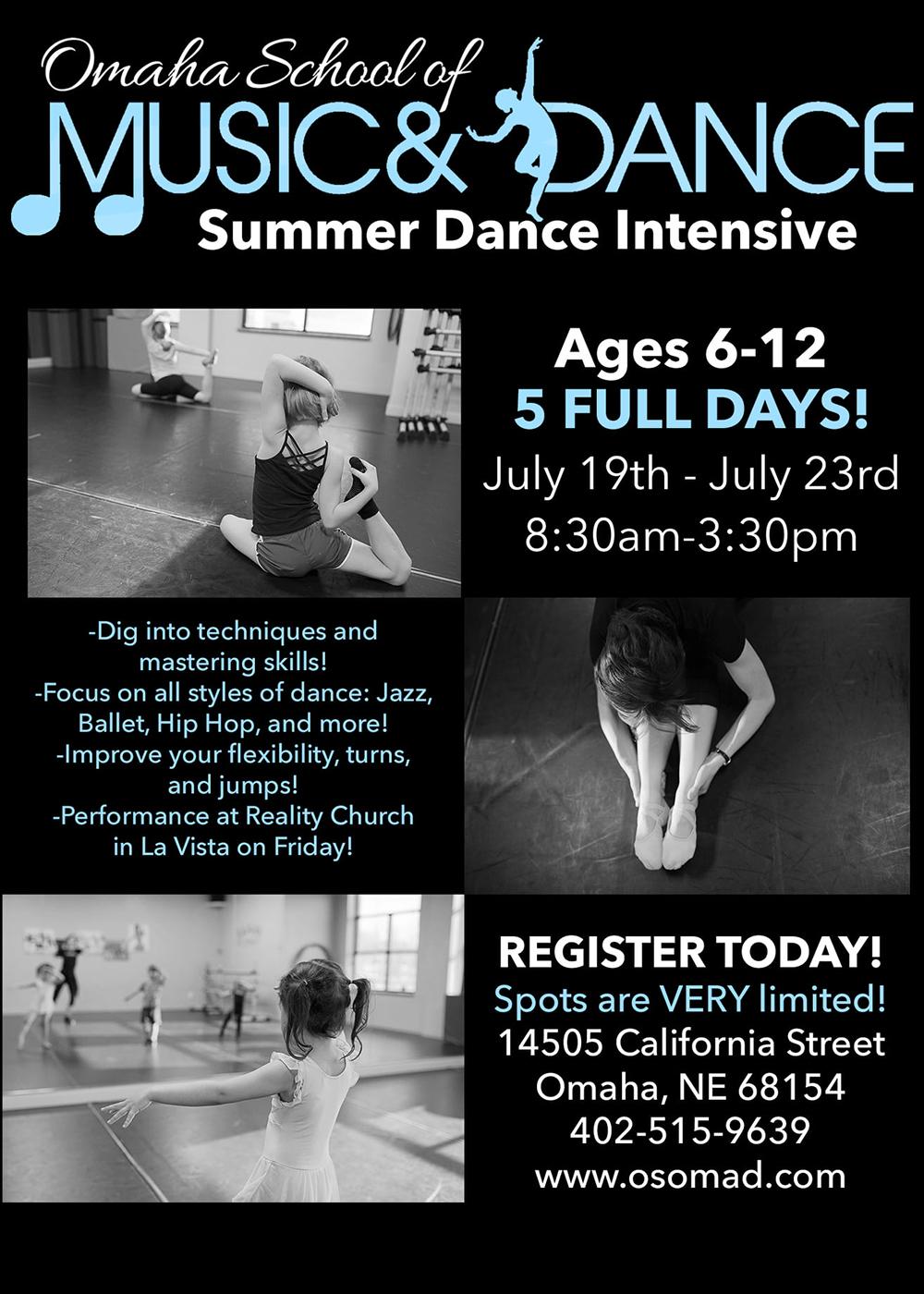 OSMD Summer Dance Intensive